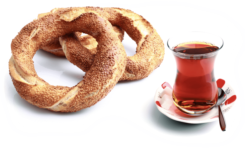 Turkish Bagel and Tea